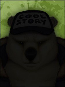 Brolar Bear Silhouette